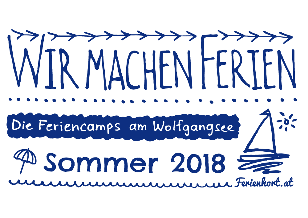 Feriencamps am Wolfgangsee im Sommer 2017