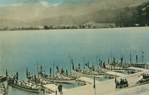 Alte Bootsflotte am Wolfgangsee