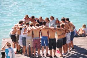 Ferienhort Boots-Mannschaft