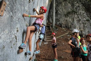 Klettern am Lieslstein