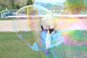 Riesen-Seifenblasen