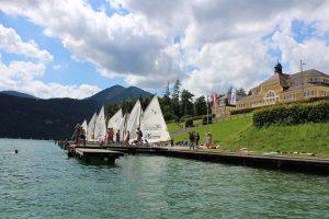 Ferienhort am Wolfgangsee - ein Ferienparadies direkt am See für Sommercamps für Jugendliche von 9 bis 18 Jahren