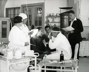 Ärztlicher Untersuchung 1920