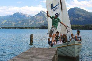 Segeln im Ferien-Camp am Wolfgangsee