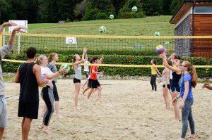 Beachvolleyball Ferien-Camp am Wolfgangsee 2017