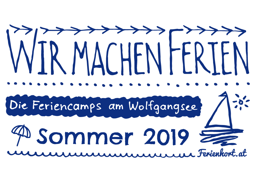 Feriencamps am Wolfgangsee im Sommer 2019