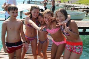 Sommercamp mit Badetag im Ferienhort Hafen