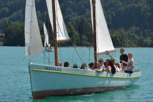 """Segeln am Ferienhort-Kutter """"Seefalke"""" in den Sommerferien 2015"""