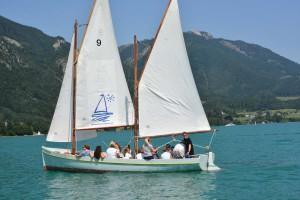 """Segelboot """"Seefalke"""", Ferienhort am Wolfgangsee 2015"""
