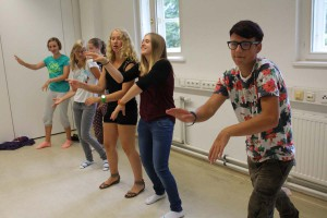 Tanzen im Feriencamp