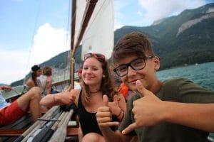 Gemeinschaft erleben in unseren einzigartigen Ferien-Camps am Wolfgangsee