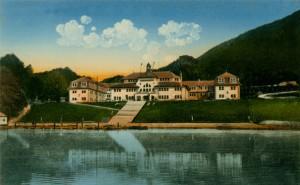 Ferienhort am Wolfgangsee um 1911
