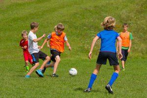 Sommerferien Fußball-Camp im Ferienhort Special-Camp 2017 am Wolfgangsee