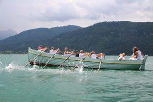 Rudern & Segeln Kurs im Ferien-Camp am Wolfgangsee