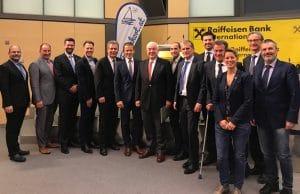 Vorstand, Geschäftsführer und Rechnungsprüfer des Vereins Ferienhort nach der Generalversammlung am 20.11.2018
