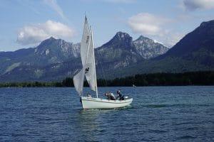 Segeln im Ferienhort Classic-Camp am Wolfgangsee